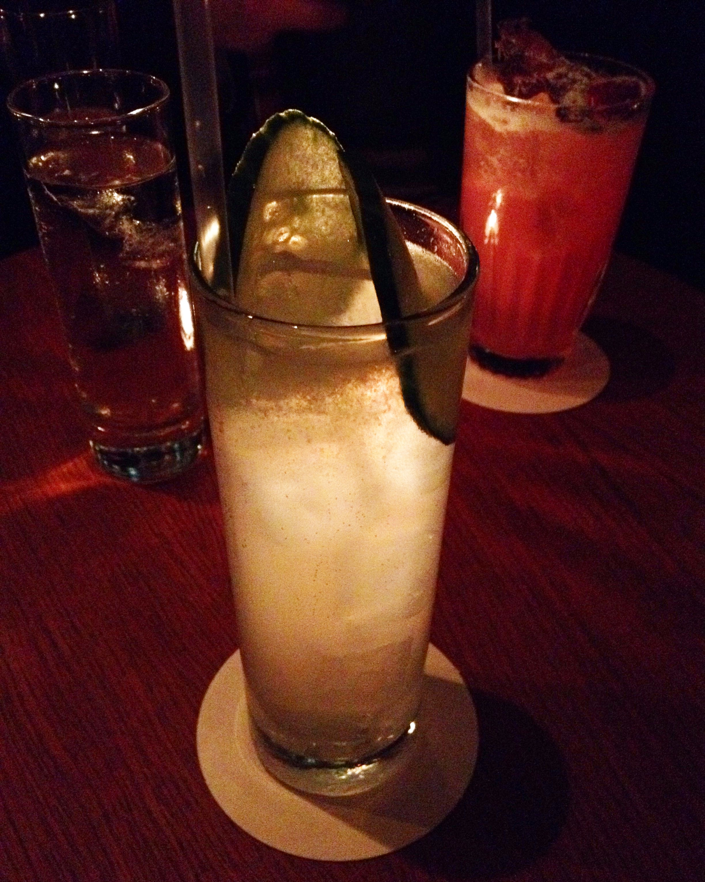 Cocktail Cucumber Collins L'Antiquaire