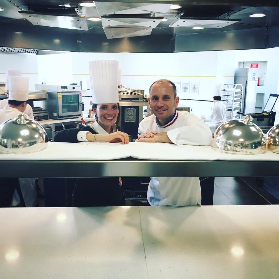 Chef Davy Tissot, restaurant Saisons