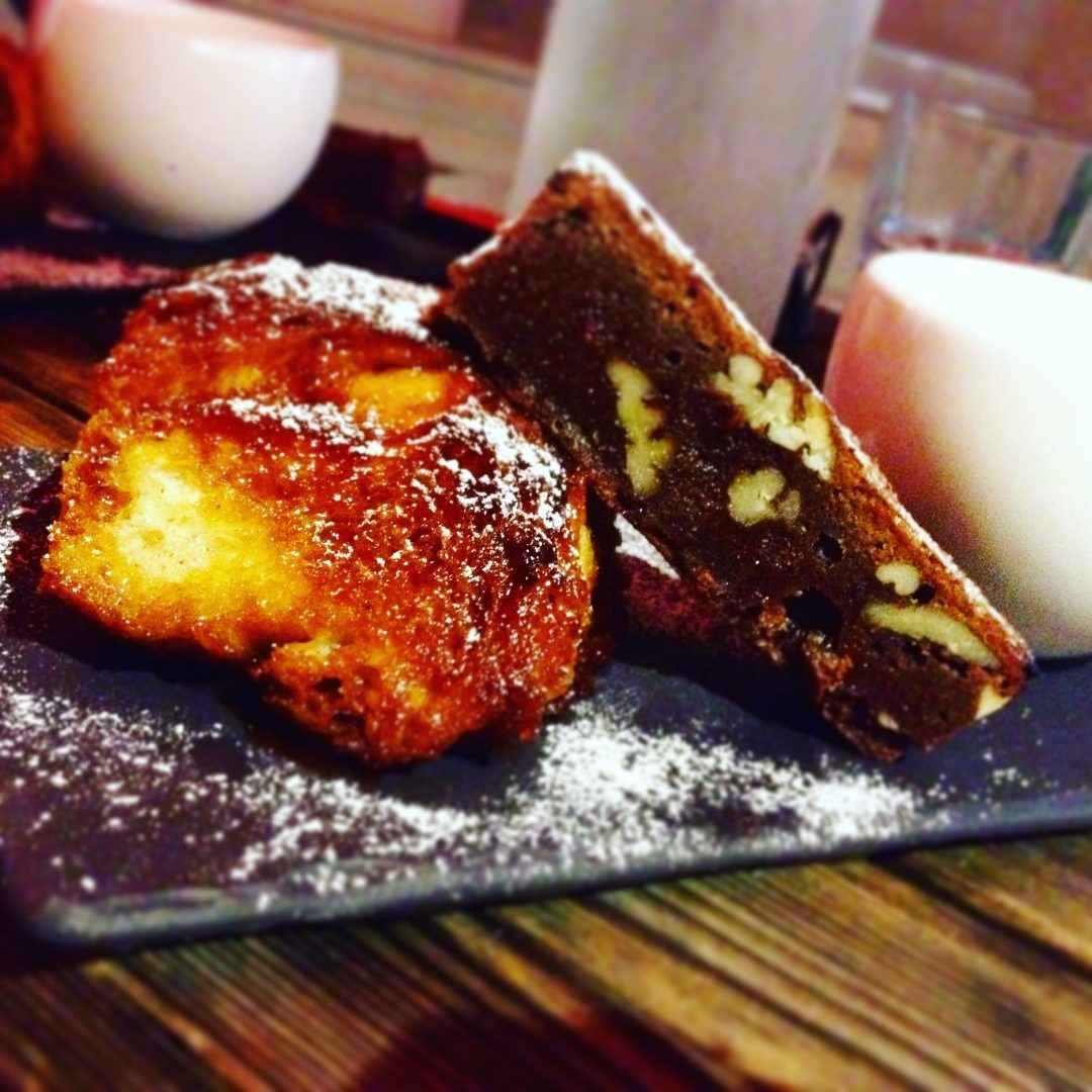Café Thomas Pain perdu et brownies